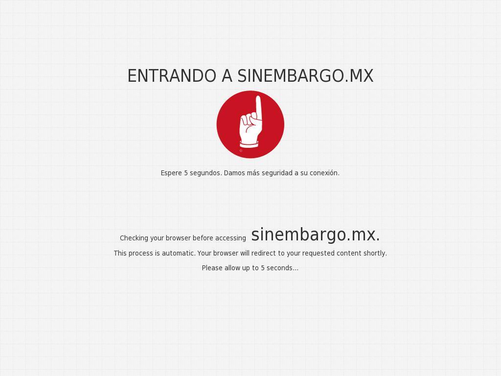 Sin Embargo at Wednesday Jan. 10, 2018, 12:20 p.m. UTC