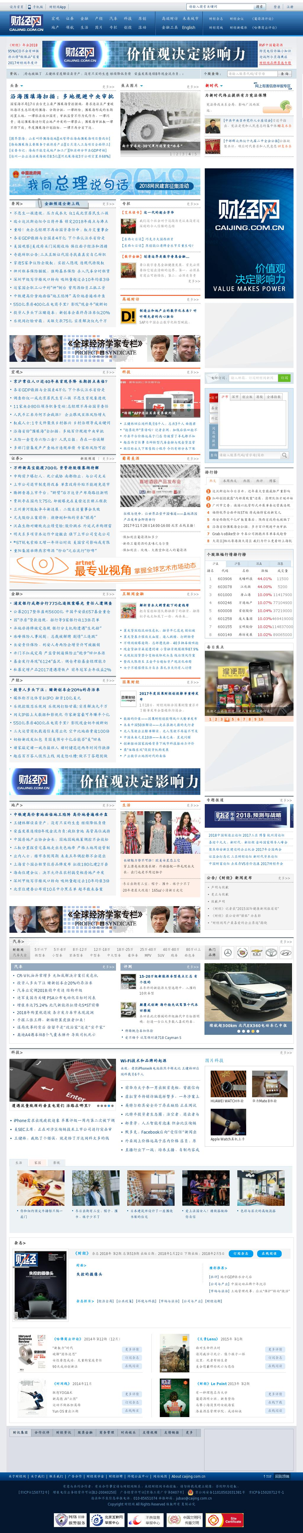 Caijing at Tuesday Jan. 23, 2018, 2 a.m. UTC
