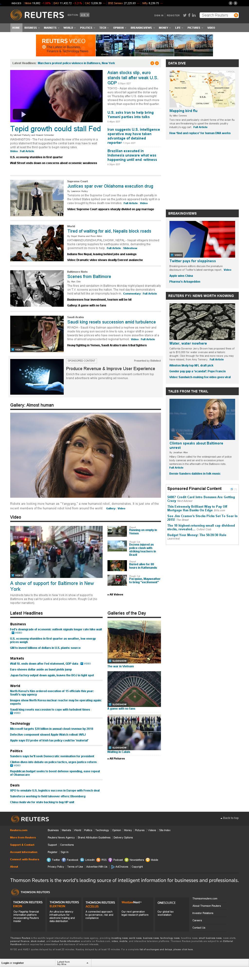 Reuters at Thursday April 30, 2015, 2:17 a.m. UTC