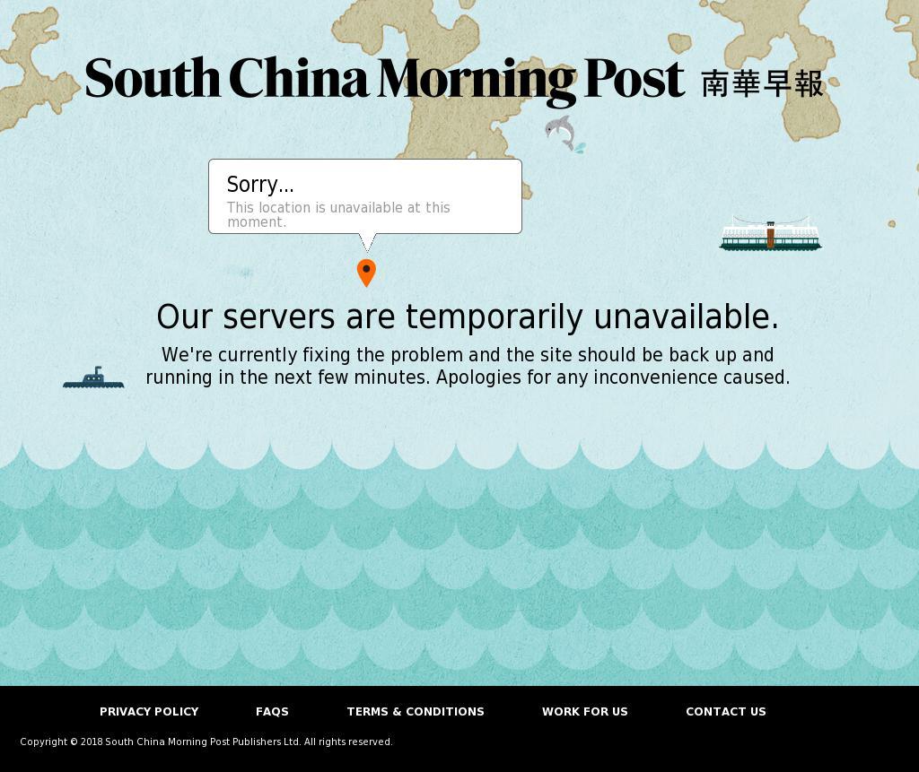 South China Morning Post at Tuesday Jan. 9, 2018, 6:22 a.m. UTC